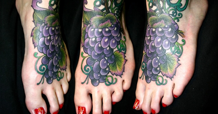 15 tatuajes del vino para #Winelovers
