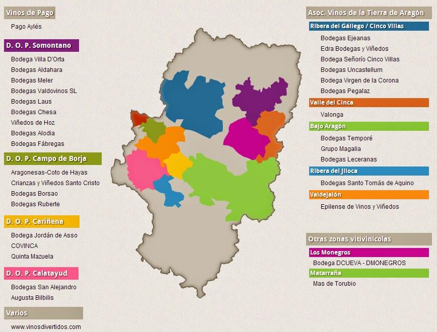 aragon-mapa