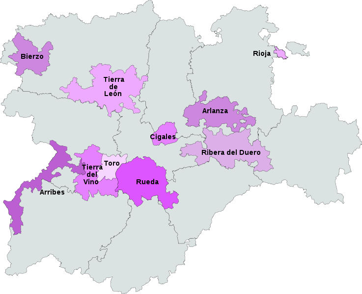 castilla-y-leon-mapa