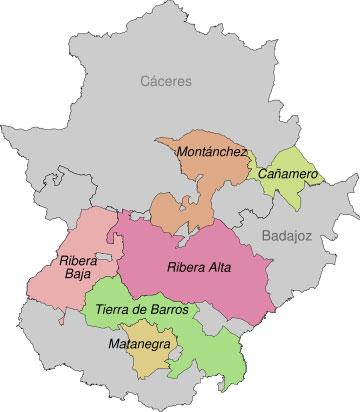 extremadura-mapa