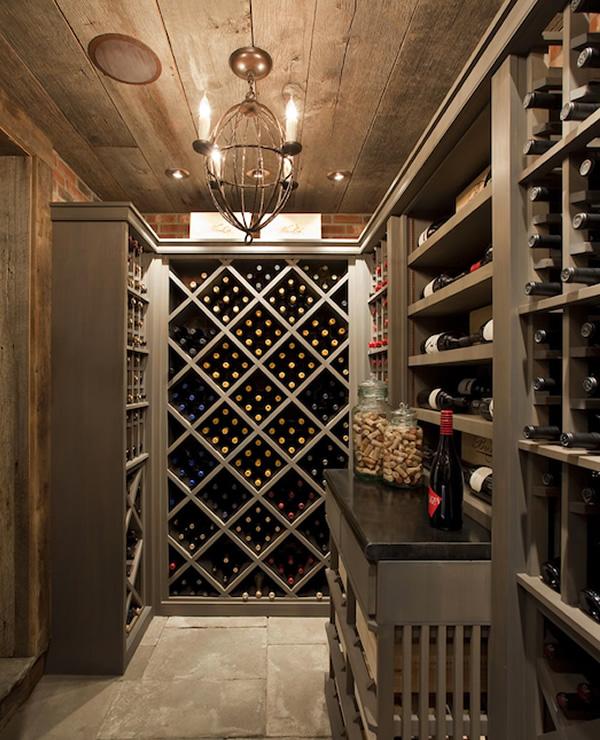 14 bodegas espectaculares en casas vinopack for Decoracion bodegas particulares